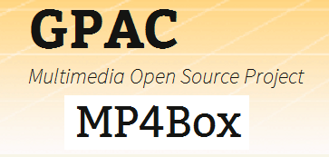 MP4BOX (GPAC)