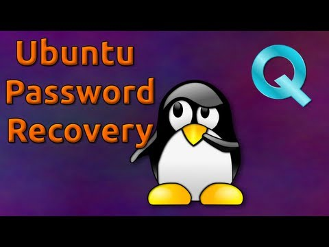 Password Recovery Ubuntu