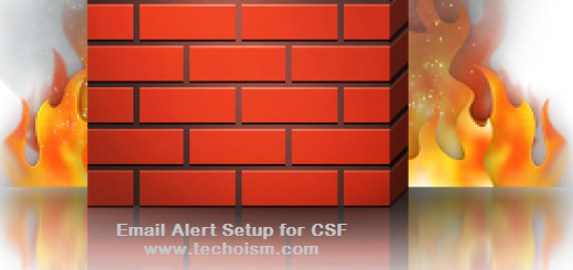 Email Alert Setup for CSF