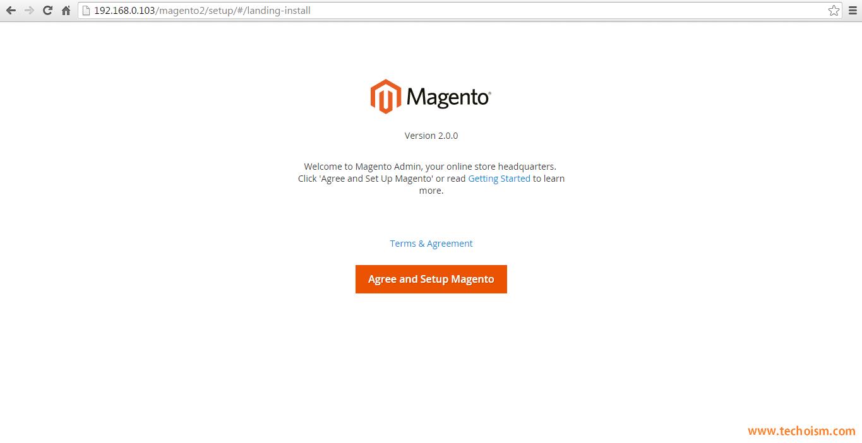 Magento 2 - Step 1