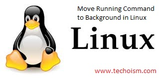 Move Running Command to Background in Linux
