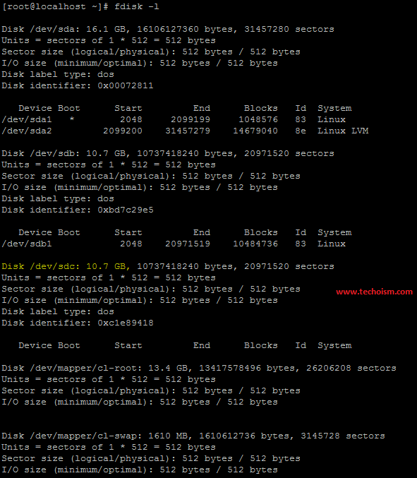 Display Filesystem