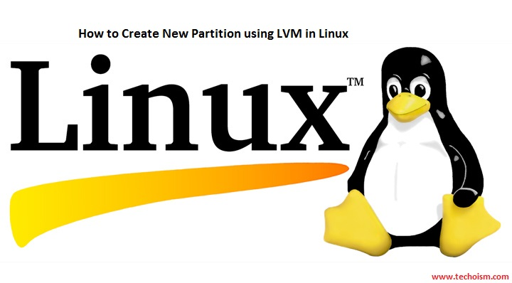 New Partition using LVM