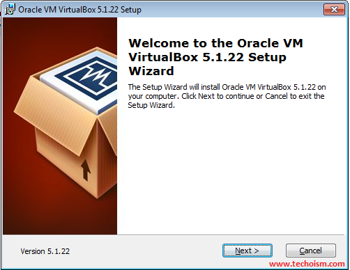 VirtualBox Windows installer