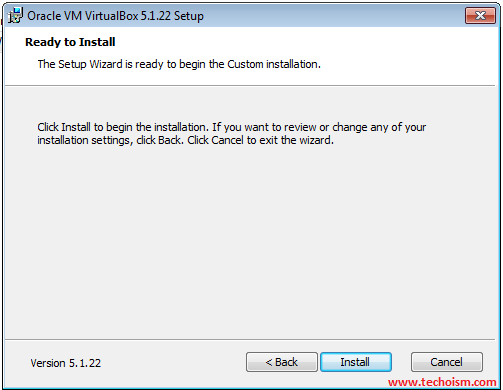Install the VirtualBox