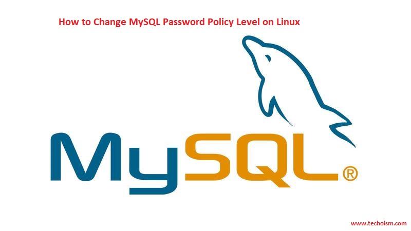 MySQL Policy