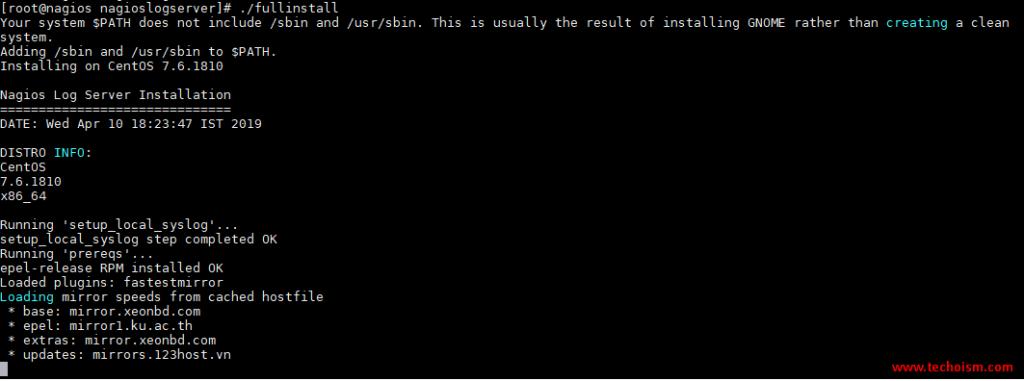 Server Install 1
