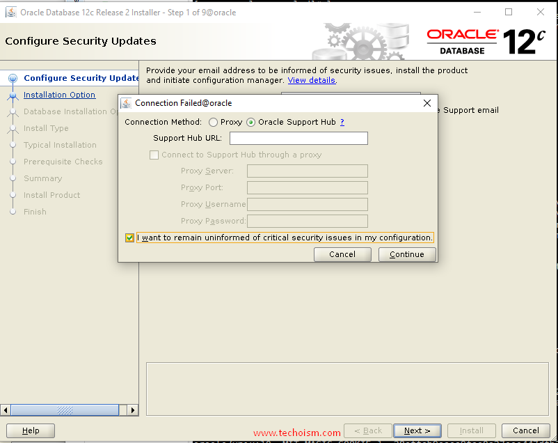 Oracle Install 3