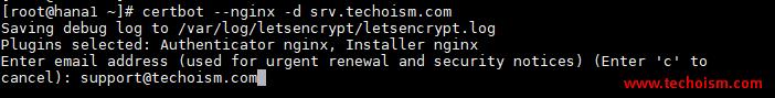 CertBot SSL Install 2