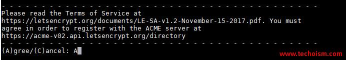 CertBot SSL Install 3