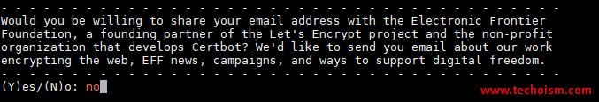 CertBot SSL Install 4