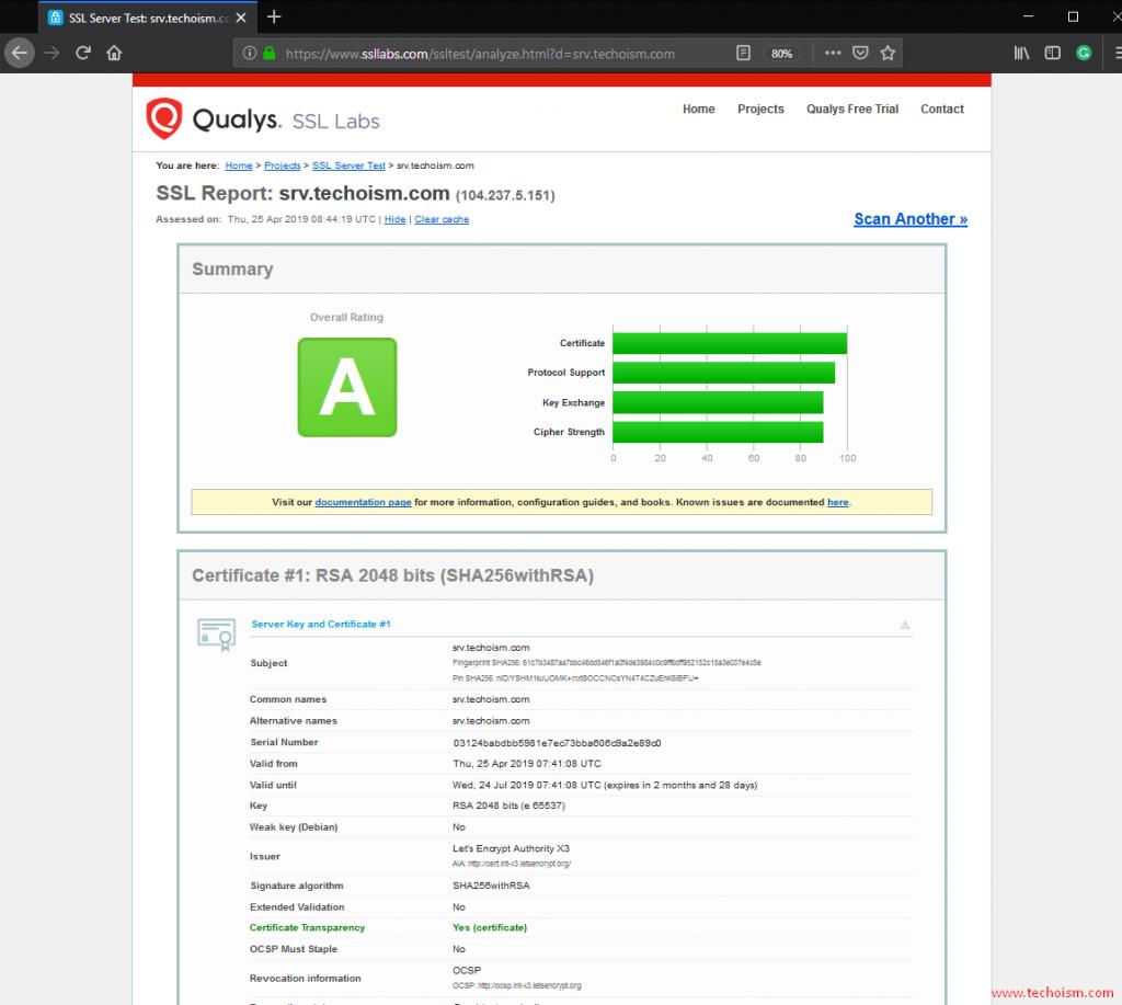 CertBot SSL Install 7