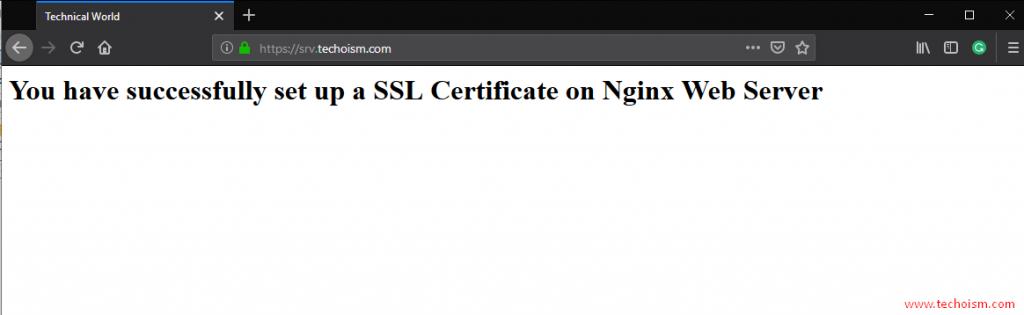 CertBot SSL Install 8